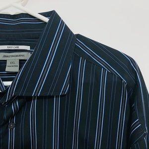 Johnston & Murphy Casual Button Down Dress Shirt